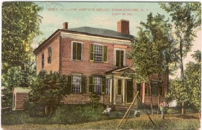"""Gen'l William North House"" image. Click for full size."