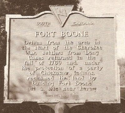 Fort Boone Marker Photo, Click for full size