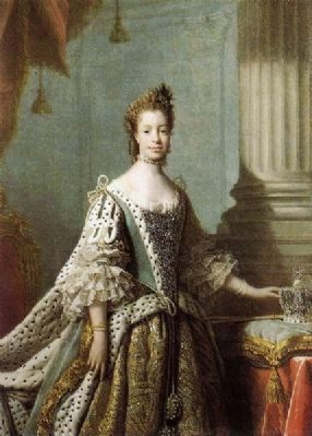 Charlotte of Mecklenburg-Strelitz<br>(1744&#8211;1818) Photo, Click for full size