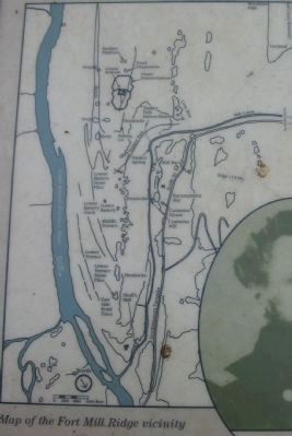 Close Up of the Fort Mill Ridge Map image. Click for full size.