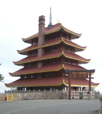 The Pagoda atop Mount Penn image. Click for full size.
