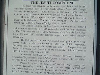 The Jesuit Compound Marker image. Click for full size.