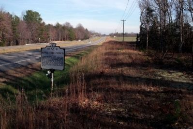 Richmond Tappahannock Highway (facing east) Photo, Click for full size