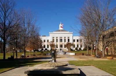 The Hall County Courthouse Plaza Photo, Click for full size
