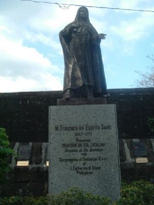 Statue of Mother Francisca del Espiritu Santo image. Click for full size.
