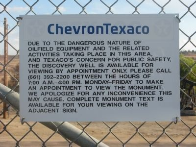 Sign Posted at Fence Photo, Click for full size