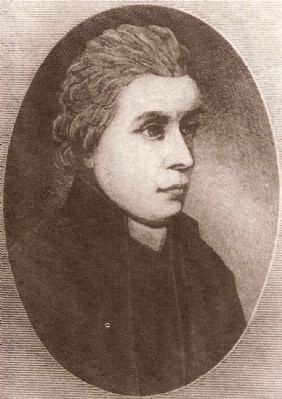 Rev. Jean Louis Gibert<br>(1722-1773) image. Click for full size.