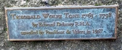 Theobald Wolfe Tone Marker image. Click for full size.