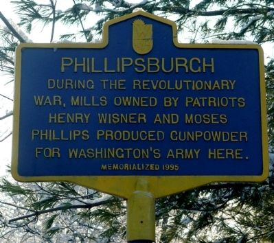 Phillipsburgh Marker image. Click for full size.