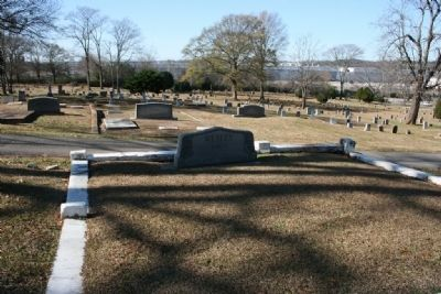 The Wesley Family Burial Plot image. Click for full size.