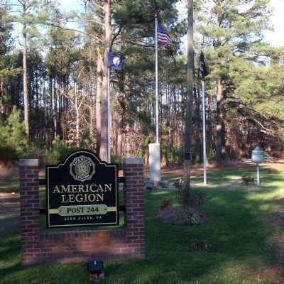 American Legion Post 244 image. Click for full size.