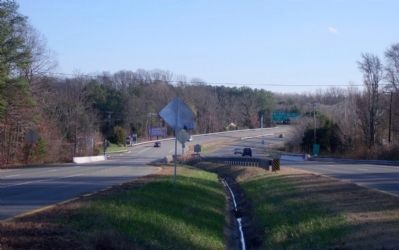 Chickahominy River crossing on Mountain Road image. Click for full size.