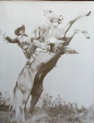Photo of Roy Rogers and Trigger on Marker image. Click for full size.