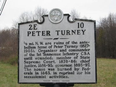 Peter Turney Marker image. Click for full size.