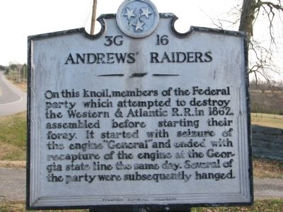 Andrew's Raiders Marker image. Click for full size.