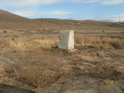 Posey Station of Butterfield Overland Mail Lines Marker Photo, Click for full size