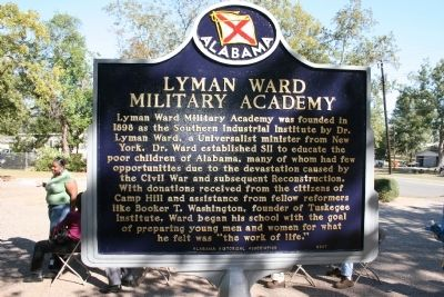 Lyman Ward Military Academy Marker image. Click for full size.