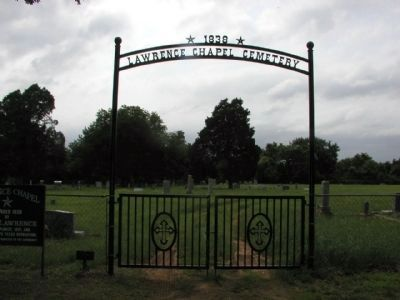 Lawrence Chapel Cemetery image. Click for full size.