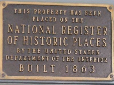 Lathrop House Marker Photo, Click for full size