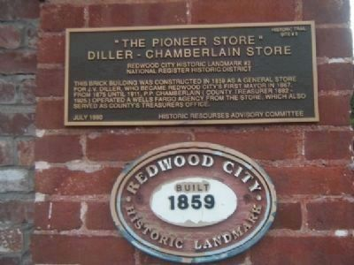 The Pioneer Store Marker image. Click for full size.