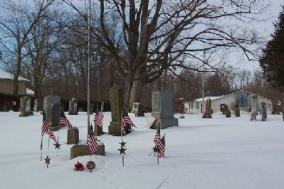 Johnstown Cemetery image. Click for full size.