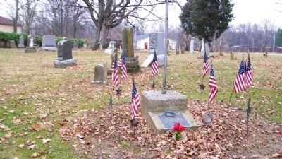 Johnstown Cemetery Revolutionary War Soldiers Marker image. Click for full size.