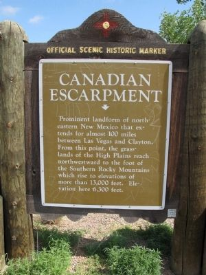 Canadian Escarpment Marker image. Click for full size.
