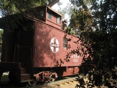 Santa Fe Caboose #1323 image. Click for full size.