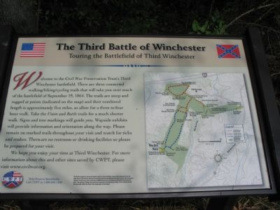 Touring the Battlefield of Third Winchester Photo, Click for full size