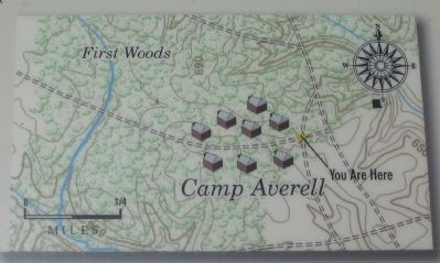 Camp Averell Topographical Map image. Click for full size.