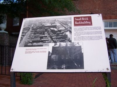 Discription of Small Brick Backbuilding image. Click for full size.