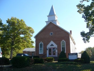 Mt. Olive Baptist Church - Front Photo, Click for full size