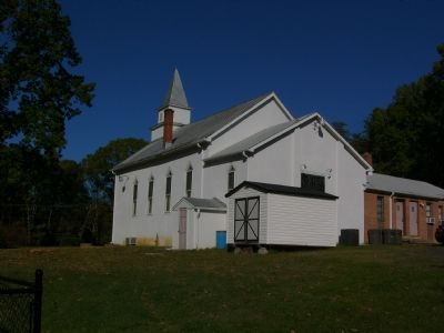 Mt. Olive Baptist Church - Back Photo, Click for full size