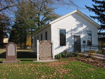 Markers and Schoolhouse image. Click for full size.