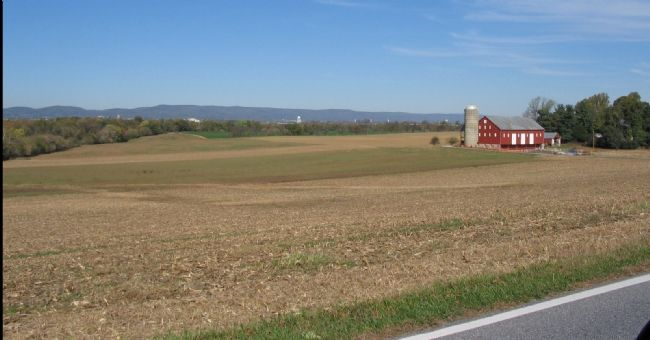 Thomas Farm Seen from Baker Valley Road image. Click for full size.