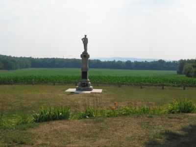 14th New Jersy Infantry Regiment Monument image. Click for full size.