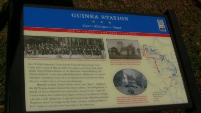 Guinea Station Marker Photo, Click for full size