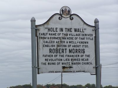 """Hole-in-the-Wall"" Marker Photo, Click for full size"