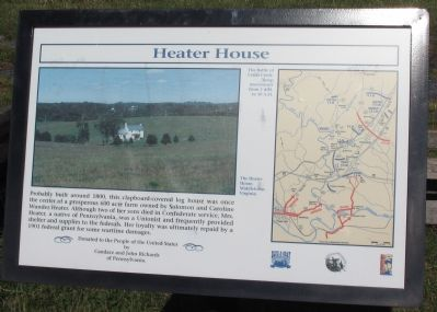 Heater House Marker Photo, Click for full size