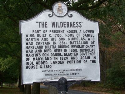 """The Wilderness"" Marker image. Click for full size."