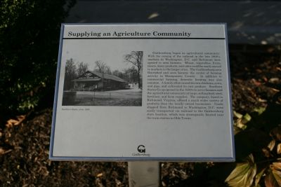 Supplying an Agricultural Community marker image. Click for full size.