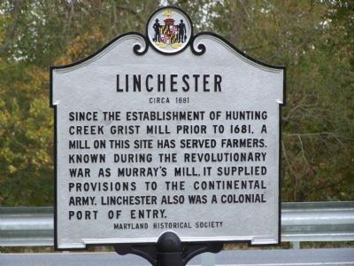 Linchester Marker image. Click for full size.