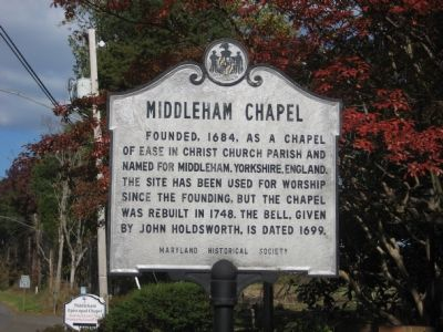 Middleham Chapel Marker image. Click for full size.