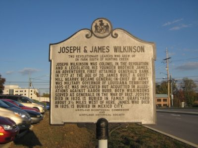 Joseph & James Wilkinson Marker Photo, Click for full size