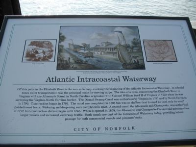 Atlantic Intracoastal Waterway Marker image. Click for full size.