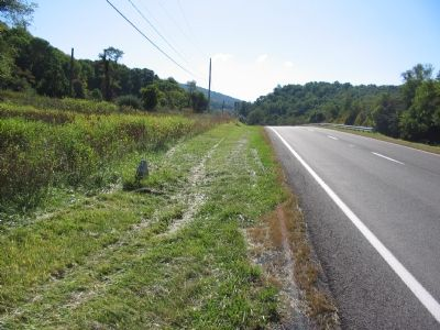 The Stone beside West Bound John S. Mosby Highway (US 17/50) image. Click for full size.