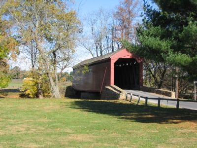 Loy's Station Covered Bridge image. Click for full size.