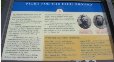 Fight for the High Ground Marker image. Click for full size.