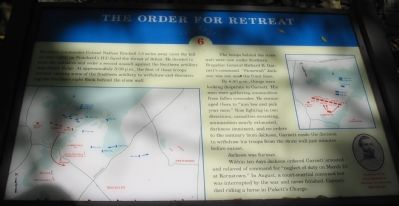 The Order for Retreat Marker image. Click for full size.