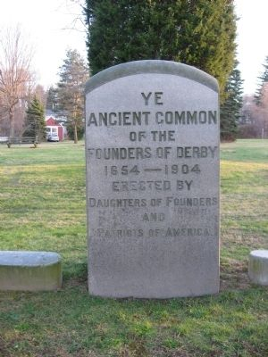 Ye Ancient Common Marker image. Click for full size.
